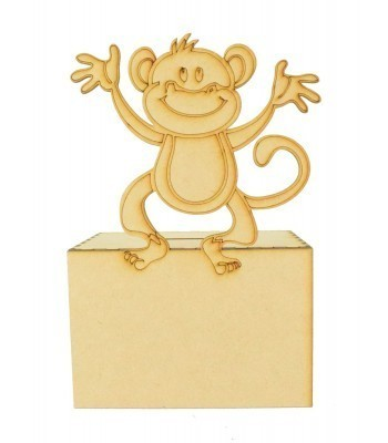 Laser Cut Cheeky Monkey Money Box